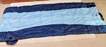Greatland Blue/Light Blue Zip Single Sleeping Bag, Semi Rectangular in Wheaton, Illinois