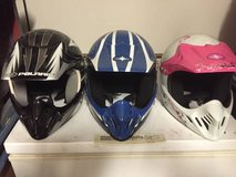 Full face motor sports youth helmets in Nellis AFB, Nevada