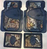 FLOORMATS TRUCK SUV Mossy Oak Camouflage Buckmark Utility Mats Sets REDUCED! in Naperville, Illinois