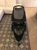 graco relay click connect jogging stroller, glacier in Dover AFB, Delaware