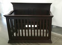Crib - Baby Cache Flat Panel Convertible Crib Espresso NEW!! 260 in Oceanside, California