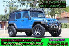 2010 Jeep Wrangler Unlimited Rubicon Ask for Louis (760) 802-8348 in Camp Pendleton, California