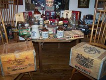 Jack Daniels Collectable Wood Crates Tins Decanters in Fairfield, California