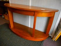 Eye Catching Half Moon Table in Batavia, Illinois
