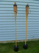 Set of 2 Portable Tiki Torches in Aurora, Illinois