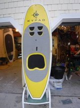 SUP/USED 7'6 SUP/KAYAK COMBO/ITS ALOT OF FUN in Wilmington, North Carolina