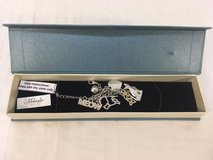 melanie jewelry cat lovers silver color six charm 8 bracelet / original box  00762 in Huntington Beach, California