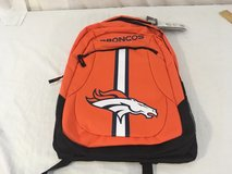 2017 nfl team apparel forever collectibles denver broncos action backpack  00764 in Huntington Beach, California