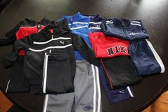 6 - 12 Month Old Track Suits (3 - Nike 3 - Puma) in Aurora, Illinois