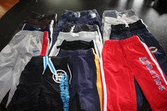 16 Pair 12 and 12-18 Month Comfortable Pants in Aurora, Illinois