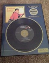 elvis presley mint new record framed riaa certified platinum released 1959 in Yucca Valley, California