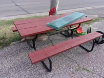 Picnic Table in Fort Riley, Kansas