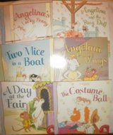 new angelina ballerina 6 books paperback rag doll lucky penny costume ball wings in Batavia, Illinois