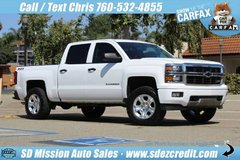 2014 Chevrolet Silverado 1500 LT White 4x4 in Oceanside, California