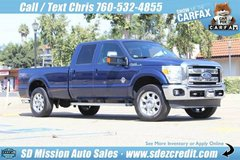 2011 Ford F-250 Super Duty Lariat FX4 Dk. Blue Diesel in Oceanside, California