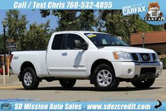 2006 Nissan Titan SE White 4x4 in Oceanside, California