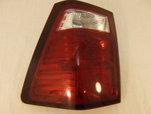 2007-2010 jeep grand cherokee 12 volt passenger side clear lens tail light right  00570 in Huntington Beach, California