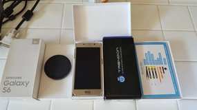 Samsung Galaxy S6 32GB Gold Edition *FLAWLESS* w/ Extras in Oceanside, California