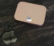 Rose Gold Apple iPhone Charging Stand in Chicago, Illinois