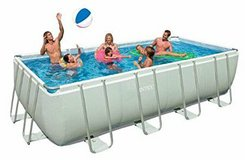 Intex rectangle pool and saltwater system NEW IN BOXES-REDUCED! in Fort Rucker, Alabama