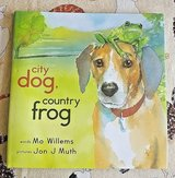 NEW City Dog, Countr Frog Age 3 - 6 Children's Hard Cover Book w  Dist Jacket in Plainfield, Illinois