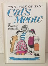 Vintage 1965 The Case of The Cat's Meow Ages 4 - 8 Children's Hard Cover Book in Joliet, Illinois