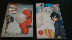 BIG HERO 6 DVD AND BOOK in Oswego, Illinois