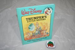RARE Vintage 1986 Walt Disney Thumpers Little Sisters Hard Cover Book in Plainfield, Illinois