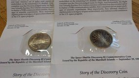 Choice of two $5 discovery commemorative coins in Kansas City, Missouri