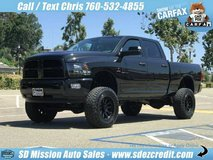 2016 Ram 2500 DIESEL BIG Horn Black 4x4 Diesel  Cummins =LIFTED= in Oceanside, California