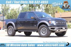 2011 Ford F-150 SVT Raptor Black in Oceanside, California