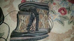 Wm Russell Safari Boots Size 14 1/2 A in Travis AFB, California