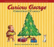 NEW Curious George Christmas Carols Hard Cover Book & CD Set in Yorkville, Illinois