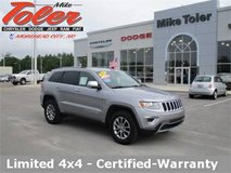 2015 Jeep Grand Cherokee Limited-Certified-Warranty-(STK-P2163) in Cherry Point, North Carolina