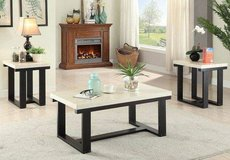 Marble Finish Coffee Table and 2 End Tables Set FREE DELIVERY in Vista, California