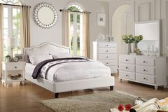 New White QUEEN or California King Bed Frame FREE DELIVERY in Miramar, California