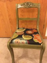 antique chair in Chicago, Illinois