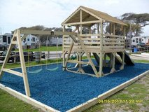 8x8 Playset with wood roof in Camp Lejeune, North Carolina