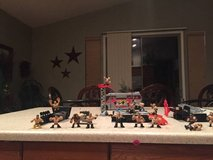 WWE action figures in Nellis AFB, Nevada