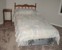 Single Bed with Headboard + Dresser + Night Stand in Plainfield, Illinois