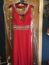 """Clarrisse"" LONG Prom Dress Red in Warner Robins, Georgia"