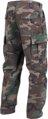 propper hot weather bdu woodland pants xlarge regular battle dress pants   00019 in Huntington Beach, California