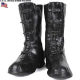vintage military black 5 buckle rubber us 12 dla100-89-c-4210 over boots  00035 in Huntington Beach, California