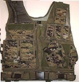 assault cross draw tactical vest - digital woodland camo lbv  00037 in Huntington Beach, California