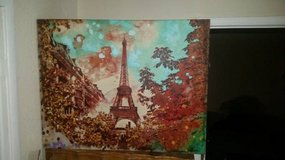 """The Eiffel Tower in Spring"" 38 x 29 Pier 1 Imports Print in Fairfield, California"