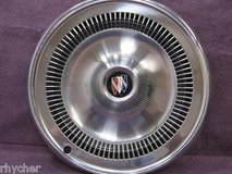 "vintage 1960's to1970's buick wheel covers set of 4 with 2 rings. very clean 14"" in Bolingbrook, Illinois"