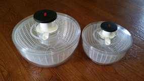 (Set of 2) OXO Salad Spinners Large & Small in Tacoma, Washington