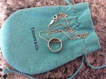 Tiffany and Co ring pendant necklace in Miramar, California