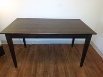 Solid wood dark brown Dining table in Vacaville, California