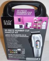 New! Easy Home 20pc Number Cut Haircut Kit in Orland Park, Illinois